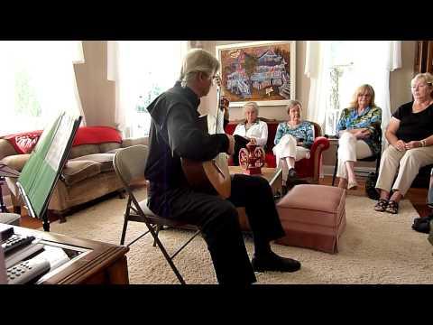 Gordon Rowland classical guitar concert