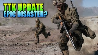 Epic Disaster? Battlefield 5 TTK Update