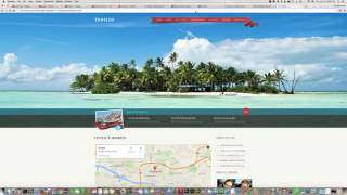 How to change google map location in bootstrap theme Free HD Video