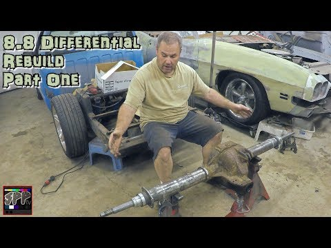 Narrowing a Differential For My Turbo 5.3 LS S10 (how to) | 8.8 Ford Rear End Rebuild #1