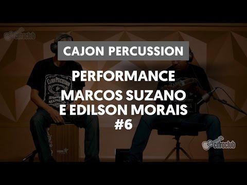 Performance Marcos Suzano e Edilson Morais | Cajon Percussion (6 de 6)