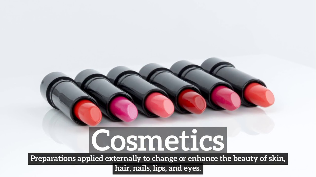What is cosmetics
