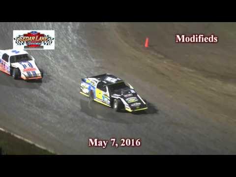5-7-2016 Modifieds Cedar Lake Speedway