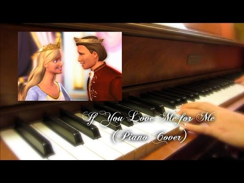 Barbie as the Princess and the Pauper - If You Love Me for Me Piano Cover with Sheet Music