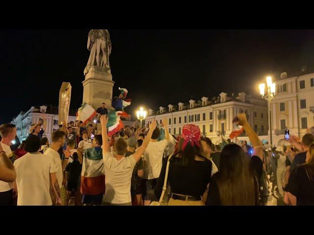 Festa per la vittoria dei campionati Europei, 11 luglio 2021