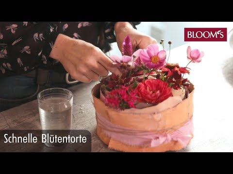 torte-aus-blüten-|-diy-sommerdeko-|-summer-decoration-|-bloom's-floristik