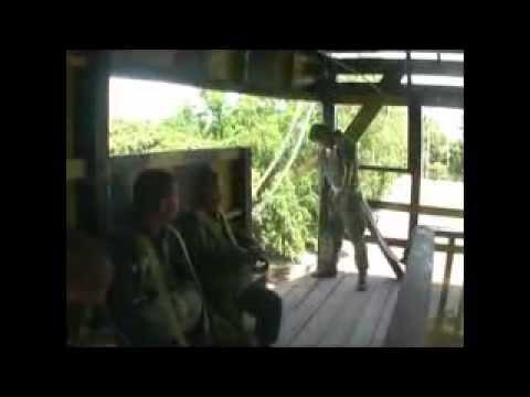 ทดสอบจิตใจนักเรียนพลร่ม สำนักงานตำรวจแห่งชาติ รุ่น 207 2/2554  police 3