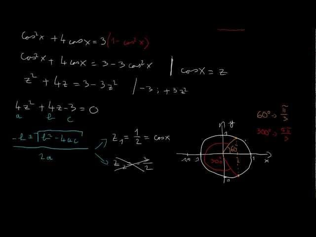 Trigonometrikus egyenletek - 2. feladat