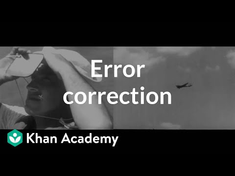 Error correction | Journey into information theory | Computer Science | Khan Academy