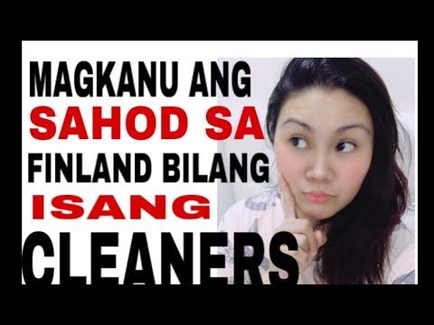 MAGKANO ANG SAHOD NG CLEANERS S FINLAND 🇫🇮 / TARA ALAMIN NATIN😍