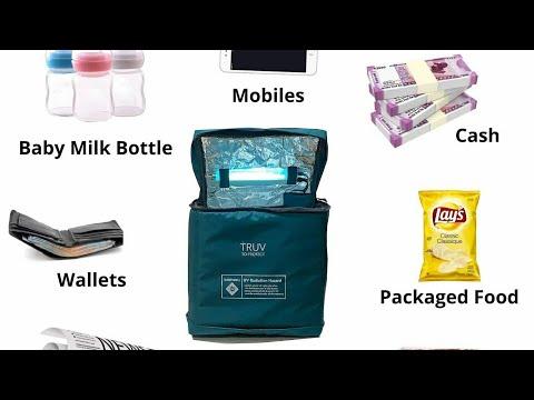 uv-light-sanitizer-portable-disinfection-bag-/-kills-99%-viruses-&-bacteria-within-min