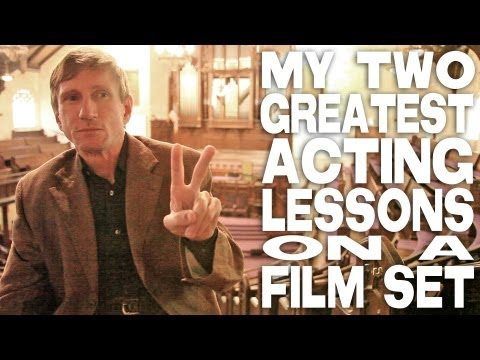 My Two Greatest Acting Lessons On A Film Set by Bill Oberst Jr.