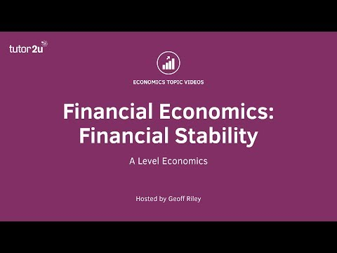Financial Economics: Introduction to Financial Stability