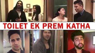 Bollywood Celebs Promote Akshay Kumar's Movie Toilet Ek Prem Katha