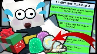 BEE BEAR QUESTS COMPLETE, 2x CODES, B.B.M MISSION! Simulateur d'essaim d'abeilles Roblox