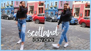 SOLO TRAVEL TO SCOTLAND: DAY ONE✈️