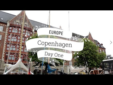 Copenhagen Travel Vlog - Day One - Rosenborg Slot, Harbour C