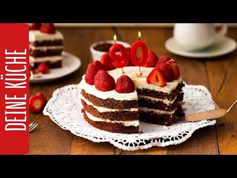 Naked Red Velvet Cake Mit Doro Vom Bakeclub 90 Jahre Rewe Rewe