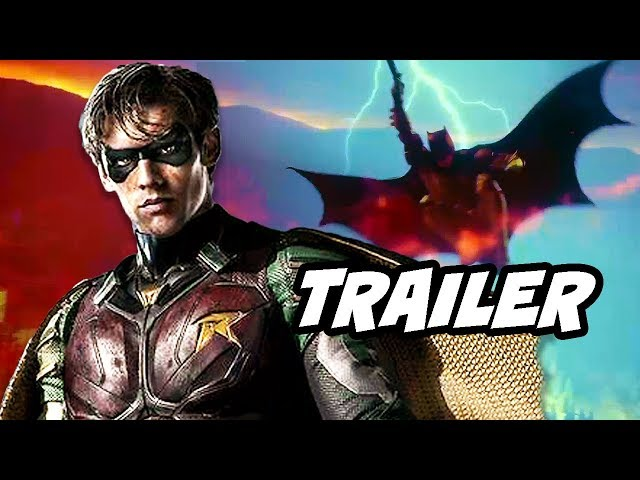 Titans Official Trailer Robin Raven Starfire Beast Boy Explained