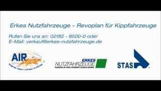 Erkes Nutzfahrzeuge - Revoplan - Das elektrische Verdecksystem für Kippfahrzeuge
