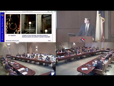 Brazos River Authority Board of Directors Meeting - October 26, 2015
