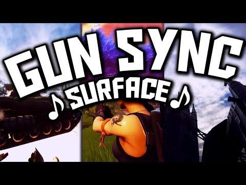 ♪ Aero Chord - Surface ♪ - MULTIGAME GUN SYNC