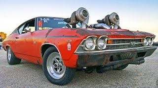 Aussie TURBO OVERLOAD - 1300hp Twin Turbo CHEVELLE thumbnail