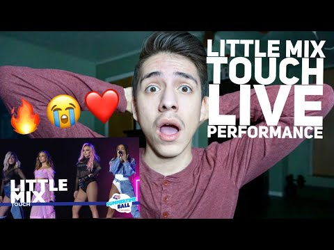 Little Mix- Touch (LIVE from CAPITAL'S SUMMERTIME BALL 2017) | Reaction