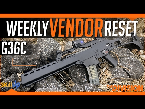 The Division | Weekly Vendor Reset (11th Feb) Feat. Military G36 and SMG Crit Advice