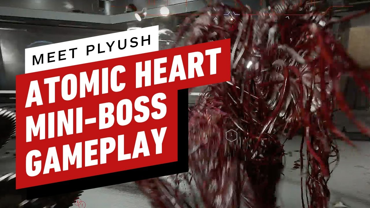 Atomic Heart Gameplay - 'Plyush' Mini-Boss Fight - IGN