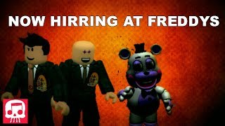 "FNAF 6 Song by JT Music - ""Now Hiring at Freddy's""(roblox music video)"