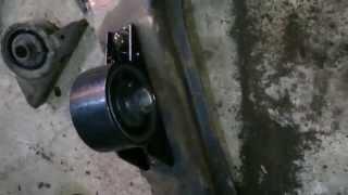 Замена передней подушки двигателя на Mitsubishi Galant 8. 6А13, EA5A