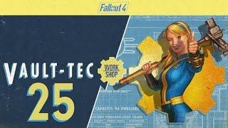 FALLOUT 4 (Vault-Tec Workshop) #25 : Shopping and Schrapnel