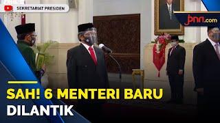 Sah! Ada 6 Menteri Baru di Kabinet Jokowi - JPNN.com
