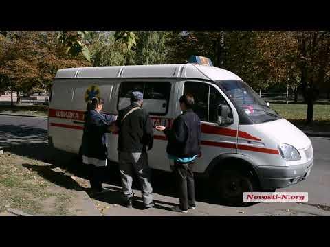 "Видео ""Новости-N"": В Николаеве из-за ужасной дороги мужчина упал и разбил нос"