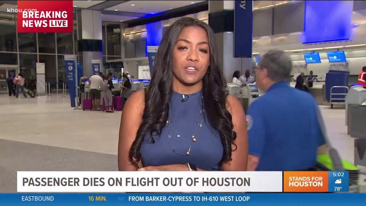 United flight from Houston to Boston diverted when passenger dies
