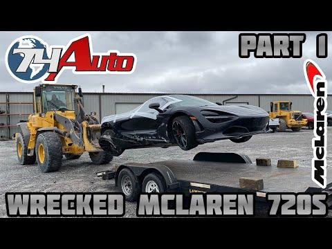 Rebuilding a Wrecked 2018 Mclaren 720s