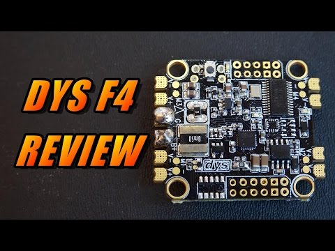 DYS F4 Flight Controller Review