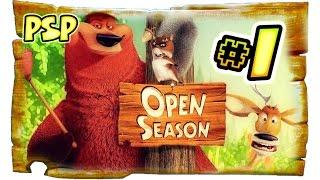 Open Season Walkthrough Part 1 (PSP) Movie Game [Full 1 of 10]