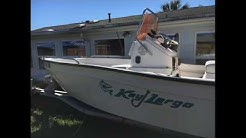 Key Largo Boat fuel tank removal and installation