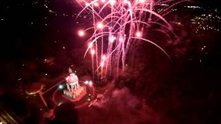 Hermanfest Herman the German Fireworks New Ulm, MN 9-12-15