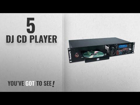 Top 10 Dj Cd Player [2018]: Numark MP103USB   Professional USB and MP3 CD player (Single Tray / RCA