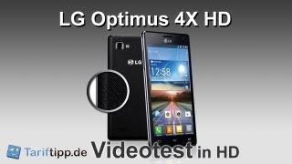 LG Optimus 4X HD | Test in HD (deutsch)