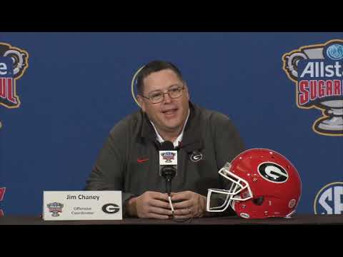 """Jim Chaney: """"We Are Going To Try To Run the Ball"""""""