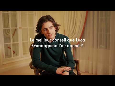Vogue Hommes a rencontré Timothée Chalamet, la révélation du film 'Call Me By Your Name'
