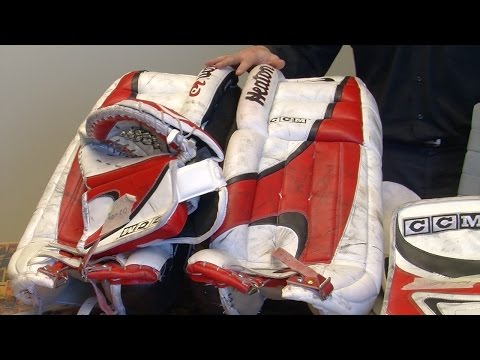 Auction: Martin Brodeur Game-Used Equipment