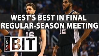 Warriors vs Spurs | Sports BIT | NBA Betting Preview