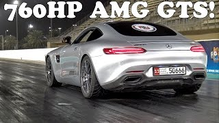 760HP Mercedes-AMG GT S PP Performance 1/4 Mile Run