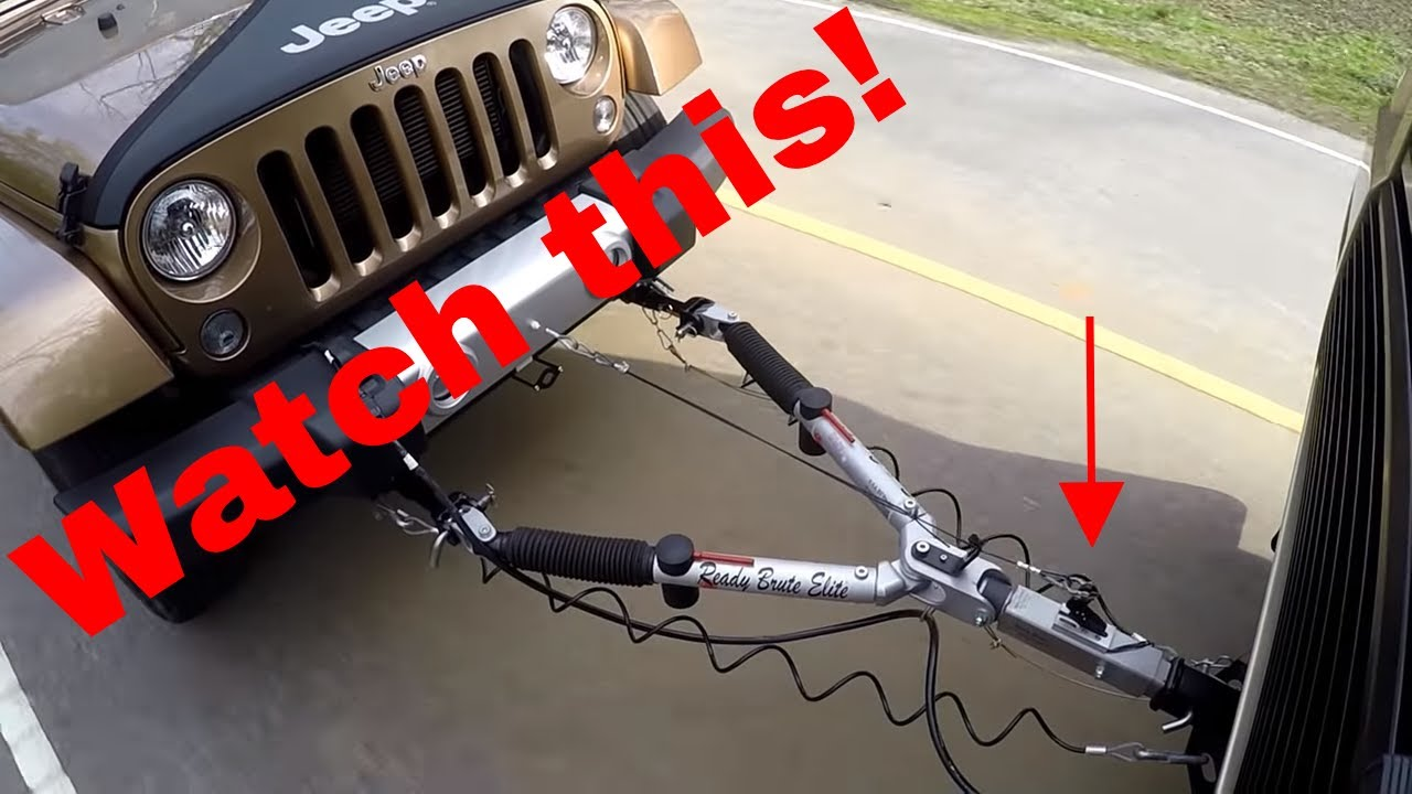Motorhome Towing Jeep Wrangler >> Towing my JK On a tow dolly? - Jeep Wrangler Forum