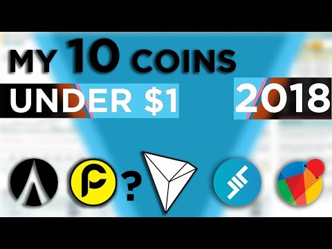 My Ten Coins for 2018 Under 1$